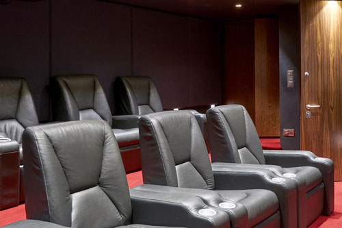 Cinemas & Games Rooms