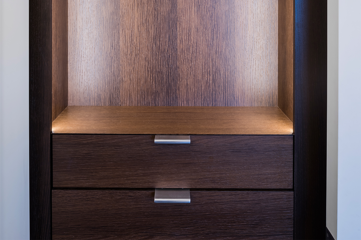 Bedroom Cabinetry Detail