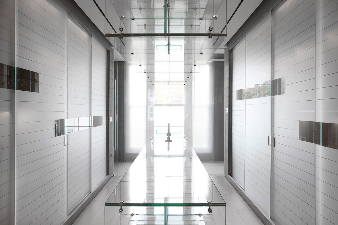 Contemporary Dressing Room | Kensington
