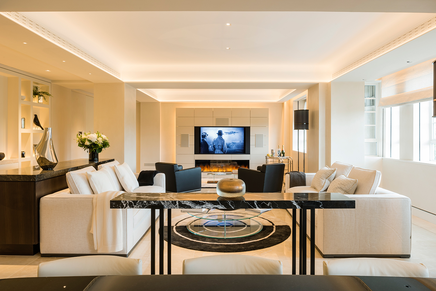 Minimalist Living Room | Knightsbridge