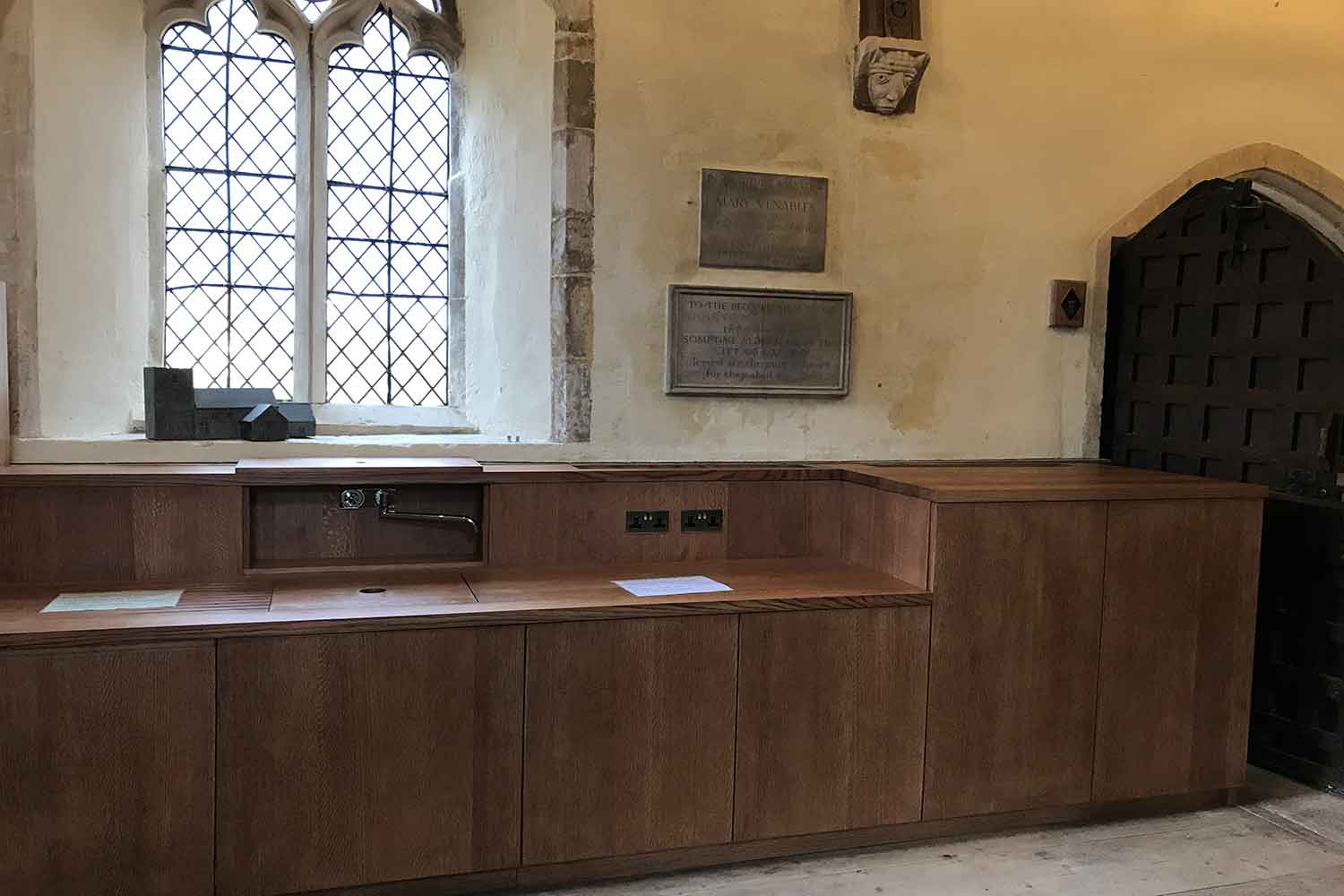 Bespoke Joinery for Historic Church in Oxfordshire