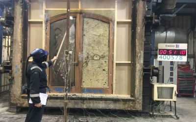 Bespoke Fire Doors – NBJ Latest Test with Exova