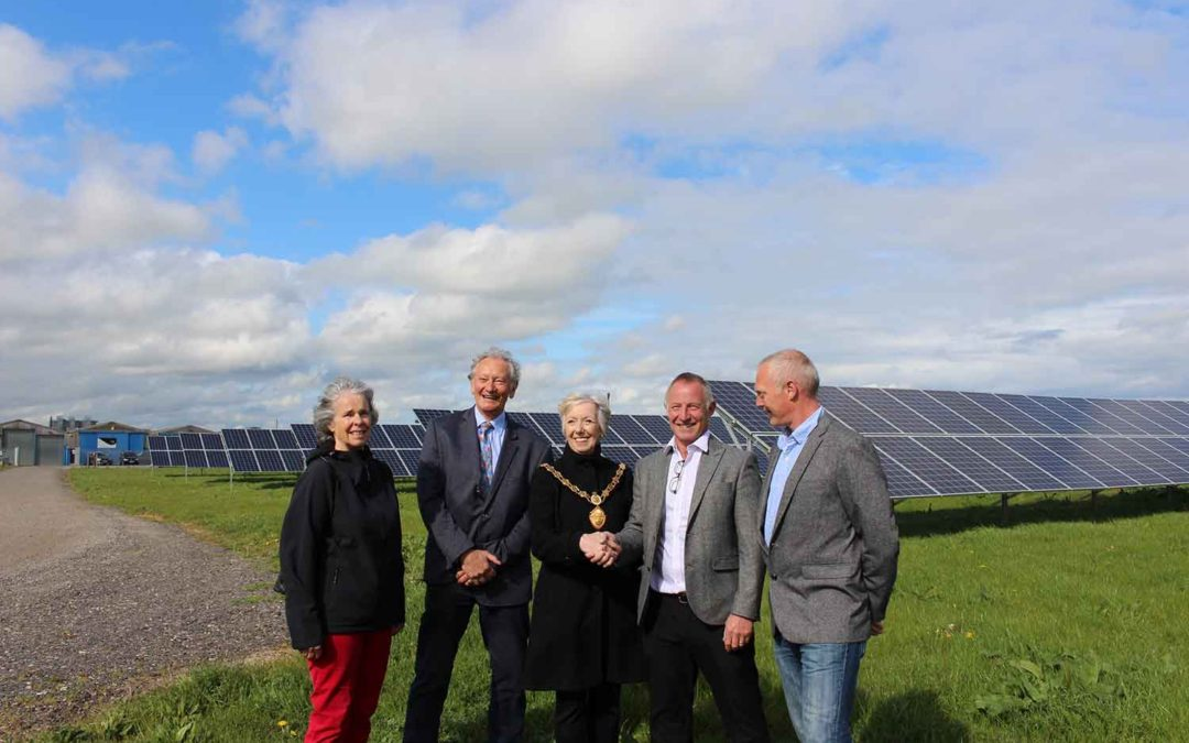 HARBOROUGH ENERGY AND LOCAL BUSINESS NBJ LEAD THE CHARGE FOR LOW CARBON COMMUNITIES IN THE HARBOROUGH AREA